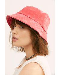 Free People - Multicolor Tie Dye Throwback Bucket Hat - Lyst