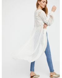 Free People - White Sweet Sunny Days Tunic - Lyst
