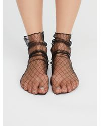 Free People - Multicolor Hey You Sheer Anklet - Lyst