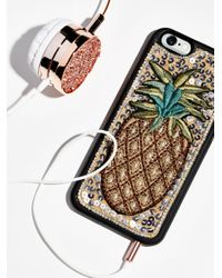 Free People | Multicolor Fp Embroidered Iphone Case | Lyst