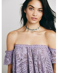 Free People - Blue Free To Be Top - Lyst