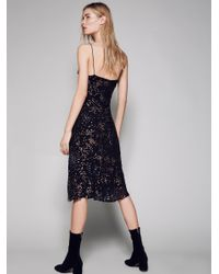 Free People | Blue Gaudi Slip Dress | Lyst