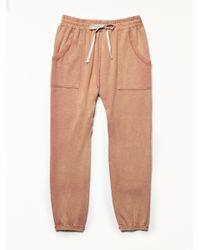 Free People | Brown Going Places Jogger | Lyst