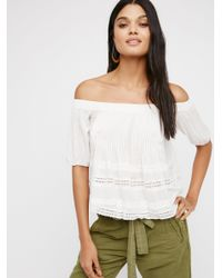Free People | White House By The Sea Top | Lyst