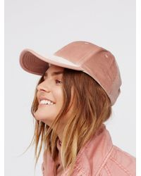 Free People | Multicolor Lady Luck Velvet Baseball Hat | Lyst