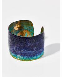Free People - Blue Lazuli Patina Cuff - Lyst
