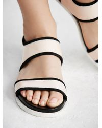 Free People Pink Light Show Sandal