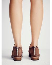Free People - Brown Lost Valley Ankle Boot - Lyst