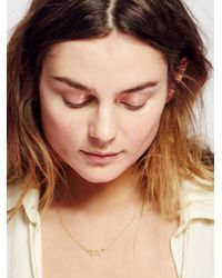 Free People | Metallic Loved Up Choker | Lyst
