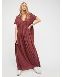 Free People | Red Mars Maxi | Lyst