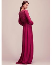 Free People - Pink Meadows Maxi - Lyst