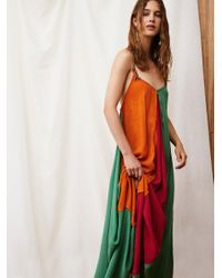 Free People - Multicolor Mixin' It Up Maxi Dress - Lyst