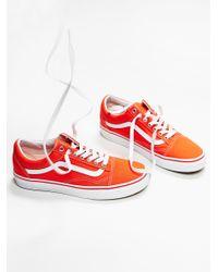 Free People | Blue Old Skool Canvas Sneaker | Lyst