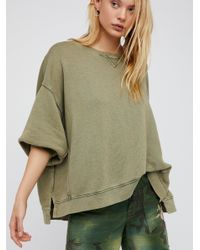Free People | Green On My Mind Pullover | Lyst
