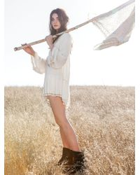 Free People | White One Night Victorian Tunic | Lyst