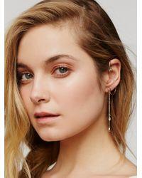 Free People - Multicolor Opal Drop Ear Cuff - Lyst