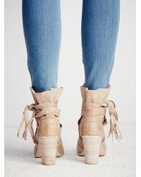 Free People | Natural Seven Wonders Heel Boot | Lyst