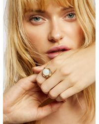 Free People - Multicolor Accessories Jewelry Rings Seven Wonders Raw Stone Ring - Lyst