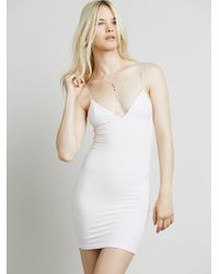 Free People | White Skinny Strap Bodycon | Lyst