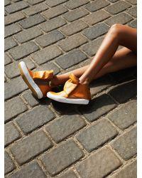 Free People | Natural Solera High Top Sneaker | Lyst
