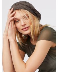 Free People - Multicolor Spring Fling Knit Beret - Lyst