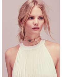 Free People - Metallic Stardust Choker - Lyst