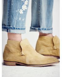Free People | Brown Summit Ankle Boot | Lyst
