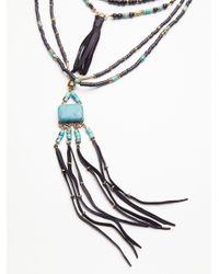 Free People - Multicolor Sun Ceremony Layered Necklace - Lyst