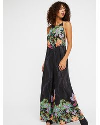 d0459f302e2 Free People To The Sky Jumpsuit in Black - Lyst
