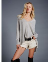Free People | Gray We The Free Pacific Thermal | Lyst