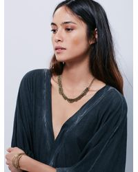 Free People - Black Wrapped Up In You Kimono - Lyst