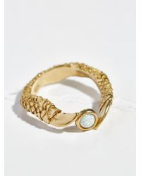 Free People | Metallic Xela Talon Stone Ring | Lyst