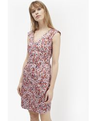 French Connection Multicolor Bacongo Daisy Floral Dress
