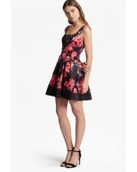 French Connection | Black Allegro Poppy Satin Strappy Dress | Lyst