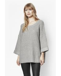 French Connection   Gray Verdi Knitted Jumper   Lyst