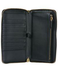 Burberry - Black Genuine Leather Wallet Credit Card Bifold Renfrew for Men - Lyst