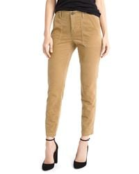 Gap | Natural Skinny Ankle Utility Cords | Lyst