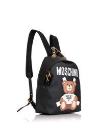 Moschino | Bear Mini Backpack Black | Lyst