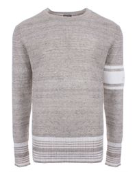 f983f9d5ad32b Vivienne Westwood Wayne Round Neck Jumper Grey in Gray for Men - Lyst