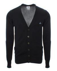 Vivienne Westwood | Classic Cotton Cardigan Black for Men | Lyst