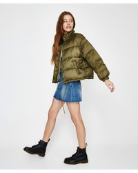 Insight - Natural Shook Up Puffer Jacket Khaki - Lyst