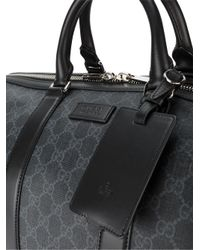 Gucci - Black Gg Supreme Soft Carry-on Duffle for Men - Lyst