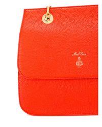 Mark Cross - Red Francis Leather Crossbody Bag - Lyst