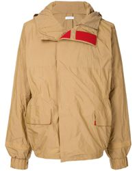 Jil Sander - Natural Contrast Touch-strap Jacket for Men - Lyst