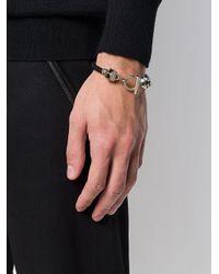 Alexander McQueen - Multicolor Skull Detail Bracelet for Men - Lyst