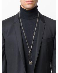 Alexander McQueen - Multicolor Pendant Necklace - Lyst