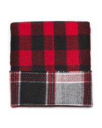 G.H. Bass & Co. | Red Reversible Buffalo Plaid Infinity Scarf | Lyst