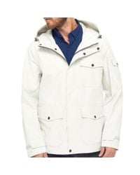 G.H. Bass & Co. | White Waterproof Explorer Mountain Rain Jacket for Men | Lyst