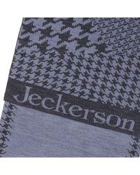 Jeckerson - Blue Scarf Men for Men - Lyst