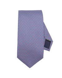 Ferragamo - Blue Tie Men for Men - Lyst